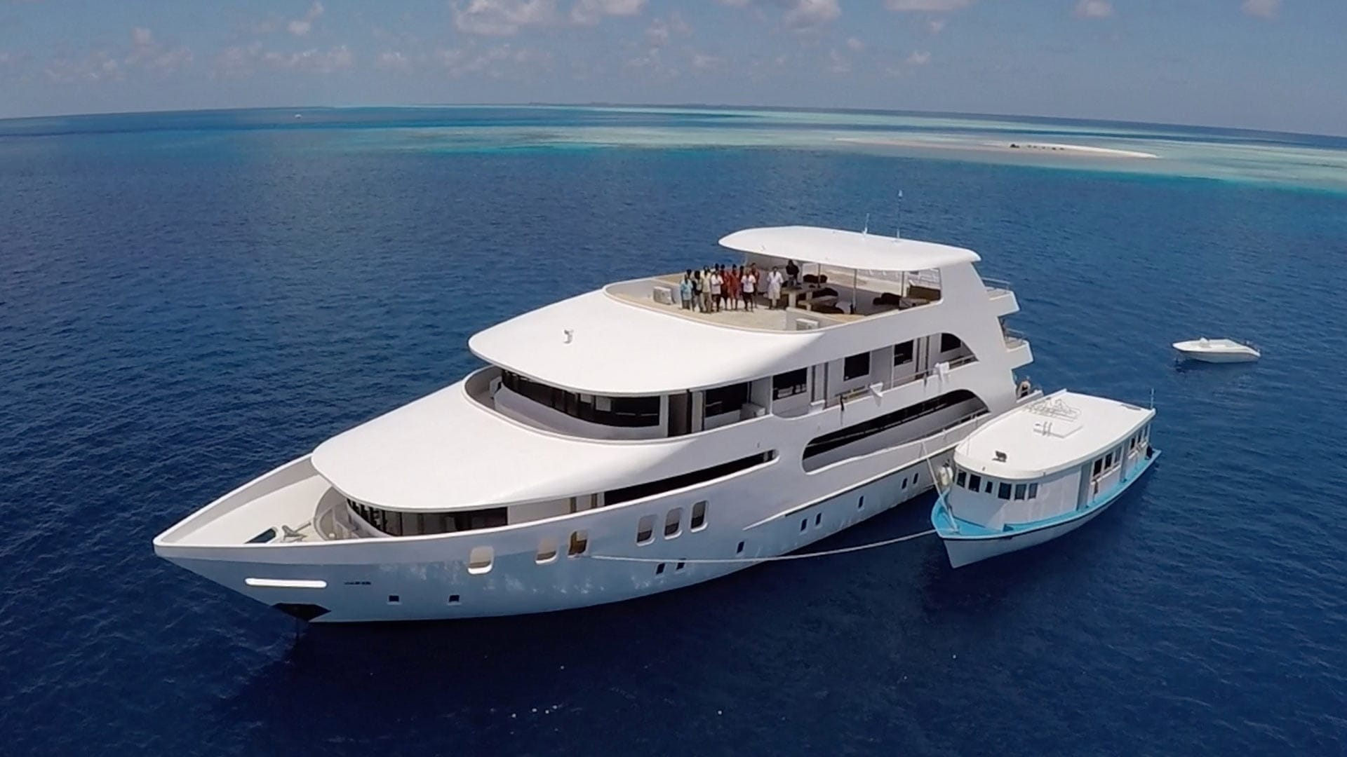 Adora Dive Liveaboard Maldives Droneview 2
