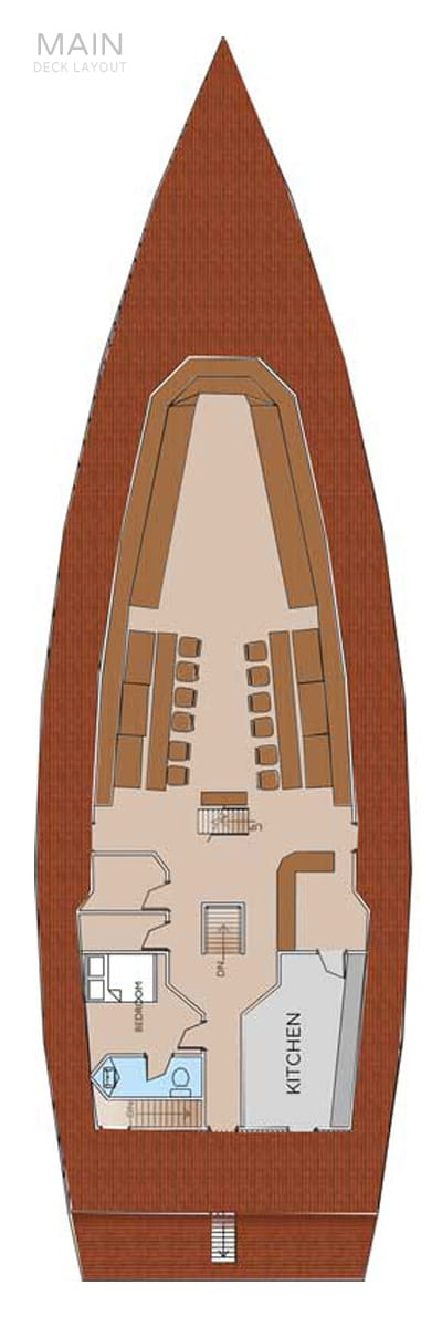 deck plan liveaboard stingray maindeck