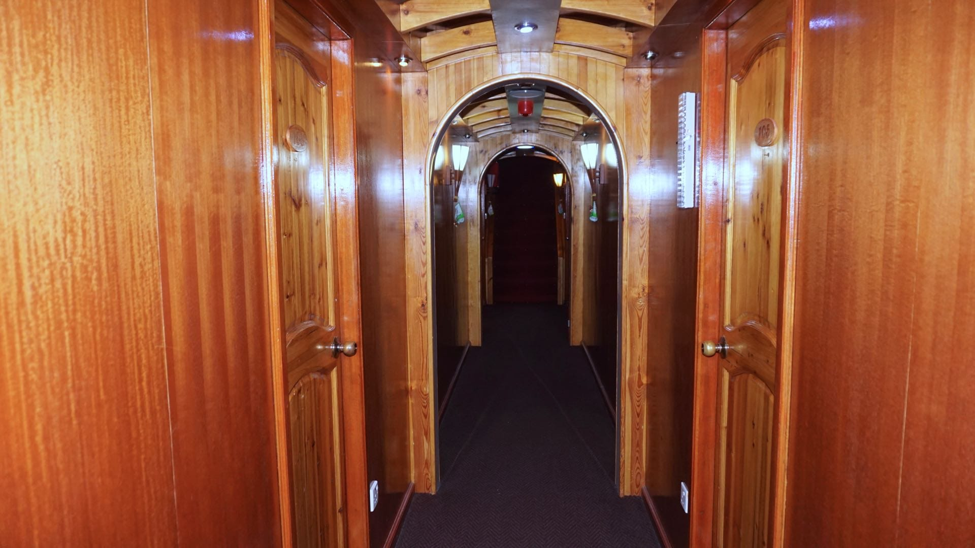 Emperor Orion lower deck hallway