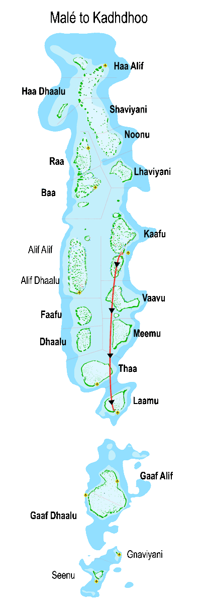 divemood map flight male kadhdhoo